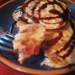 Fruitcake Pancakes