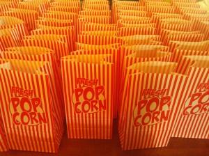 Leftover Popcorn Cookies