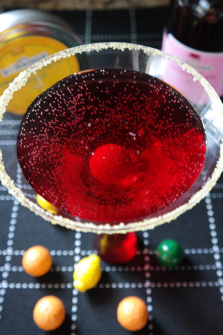 Pomegranate Bubble Gum Martini