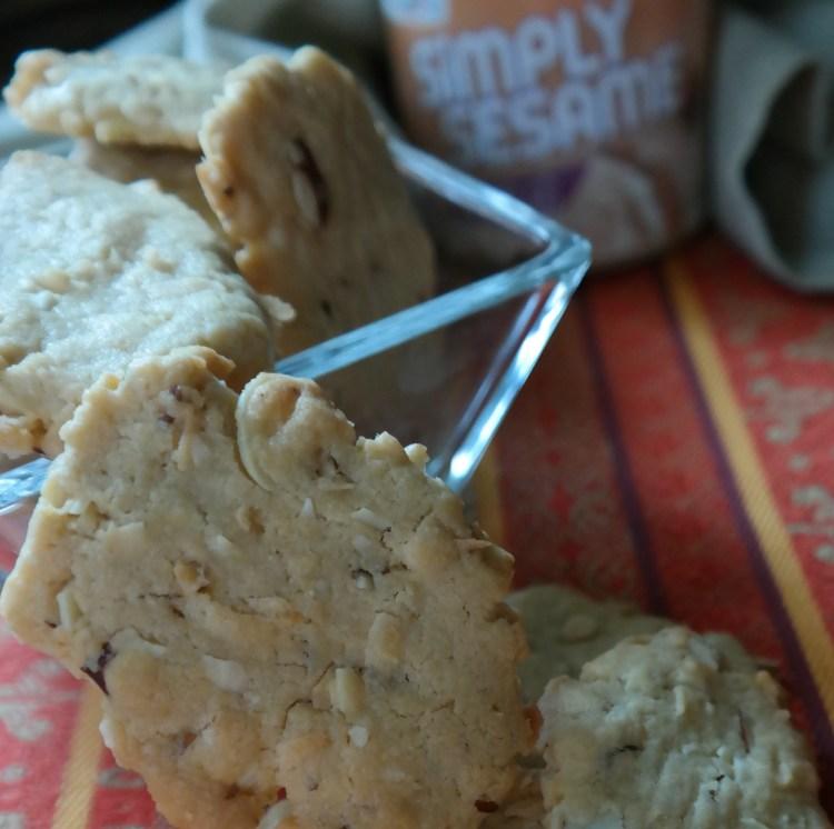 Simply Sesame Vanilla Coconut Almond Cookie Crisps