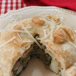 Spinach and Artichoke Shrimp Pot Pie