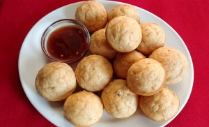 Leftover Jambalaya Muffins