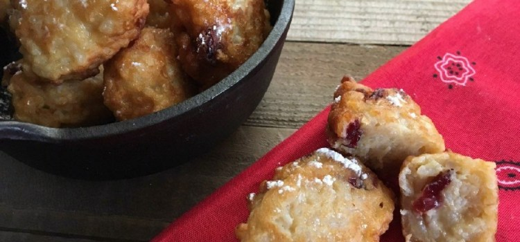 Zesty Lemon Cranberry Leftover Rice Fritters