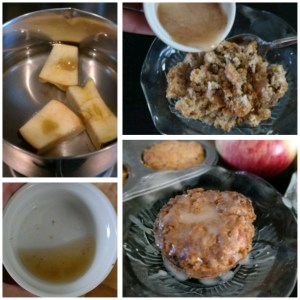 Food Waste Apple Core Cooking
