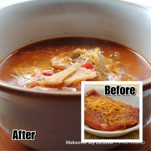 Leftover Enchilada Soup