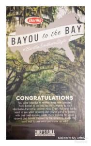Bayou to the Bay Invitation