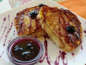 Blueberry Caramel French Toast