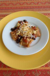 Crunchy taco Ravioli