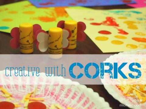 cork painting art activities