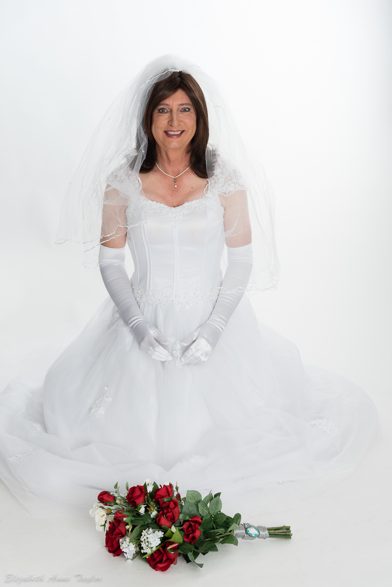 crossdresser wedding  Makeovers with Elizabeth Taylor
