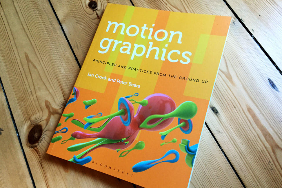 motion graphics book with techniques from make productions short film