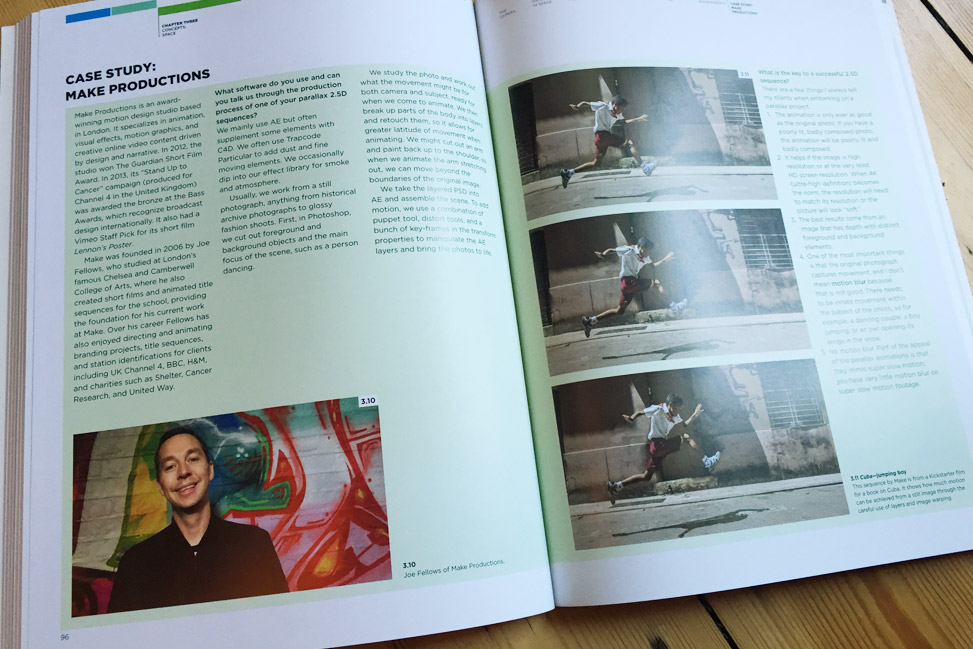 Make Productions Case Study from Motion Graphics Book