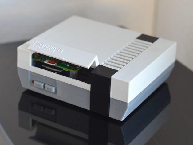 Raspberry PI NES Gehäuse 3D drucker