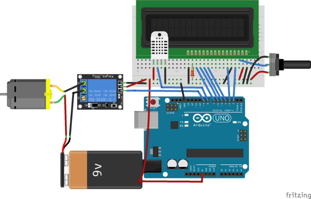 medium resolution of how to make a temperature controlled fan using arduino arduino maker pro