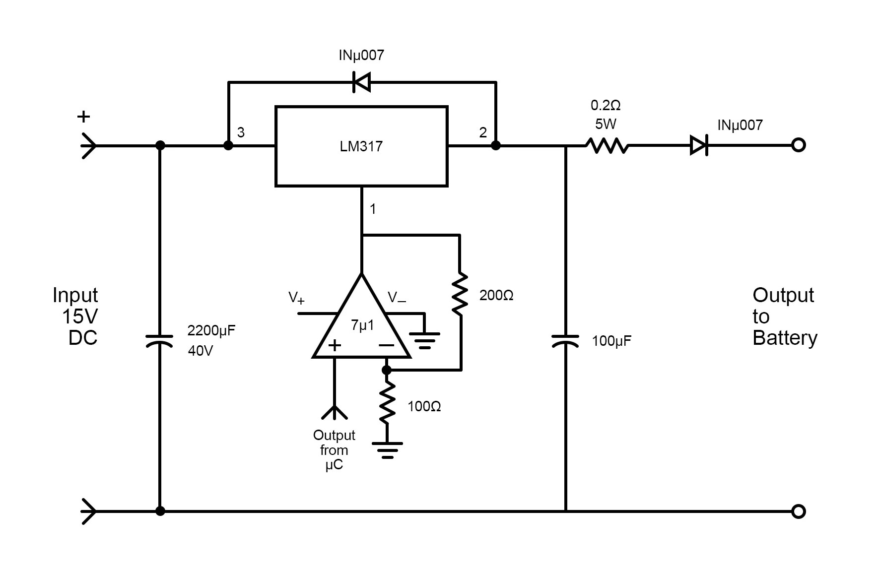 How to Design a Three-stage Battery Charging Circuit