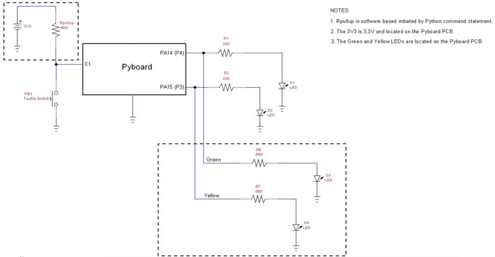 medium resolution of the micropython led flasher device circuit schematic diagram view the full size schematic