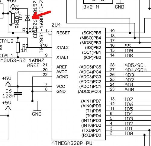 Orjinal Arduino Uno, R2 ve R3 Revizyonu Arasındaki Farklar