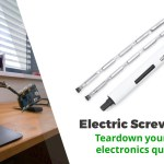 Teardown Your Old Electronics Quickly With This Electric Precision Screwdriver (41% Off)