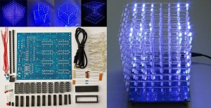 Thursday's Deal: 8x8x8 LED Cube DIY Kit For $16.99