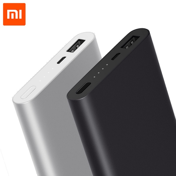 Original Xiaomi Power Bank 2 10000mAh Quick Charge 2.0 Portable Charger with Micro USB Input