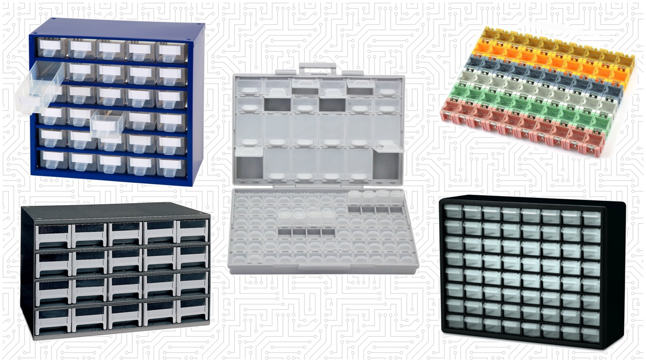 Electronic Component Storage Cabinet  Yamsixteen