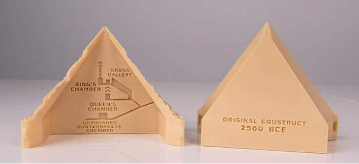 printable pyramid diagram white rodgers type 91 relay wiring explore the great of giza with this 3d printed model