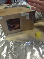 Solar ovens require heaps of foil!