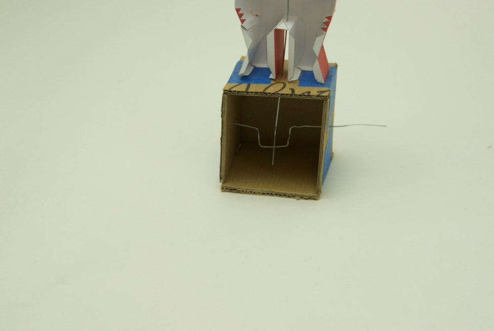 Arms That Bend Paper Craft