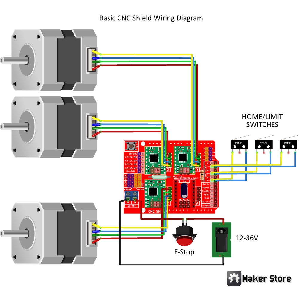 hight resolution of  electric furnace limit switch diagram electronics photo album by maker store team 51 maker community on cnc machine control diagram