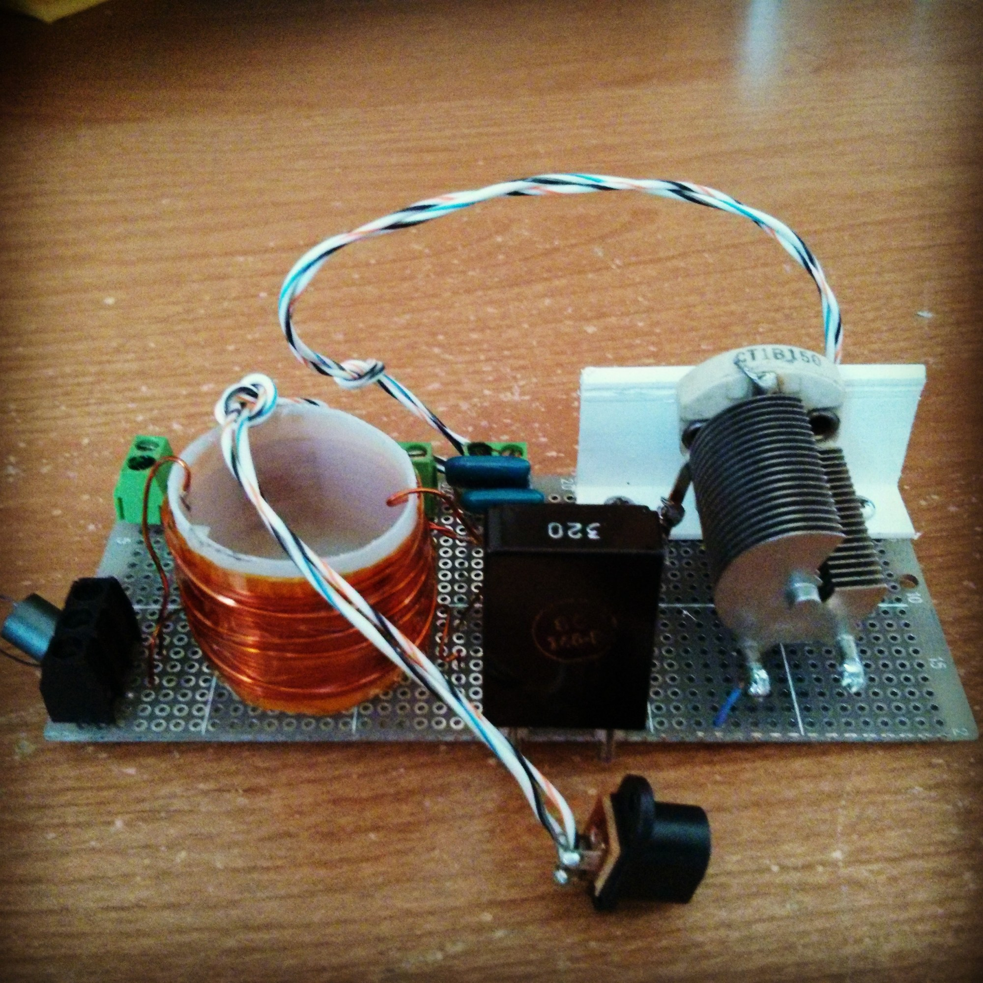 hight resolution of michigan mighty mite shortwave transmitter