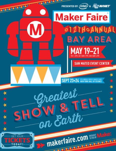 Maker Faire Bay Area Flier
