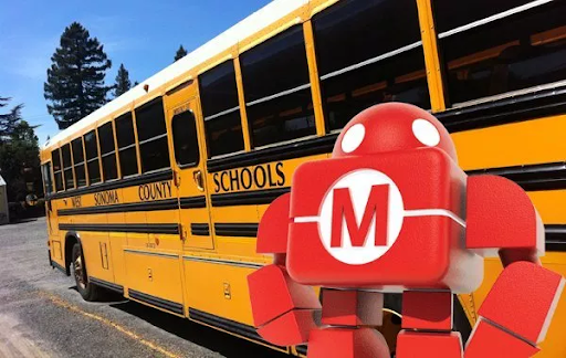 School Bus and Makey