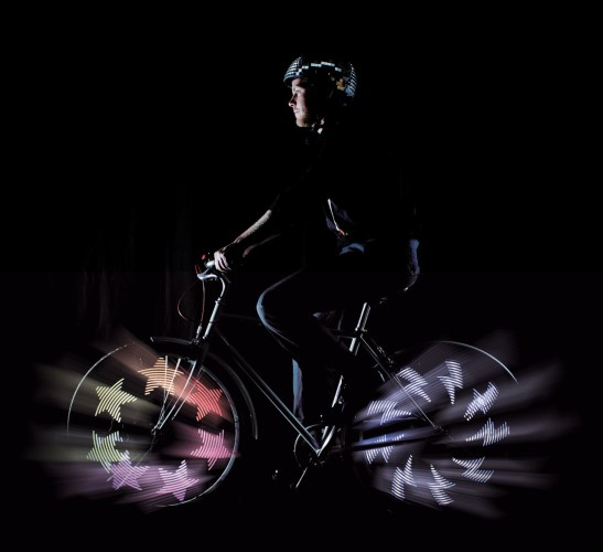 Maker Faire | Digital Light Art with Bicycles by MonkeyLectric