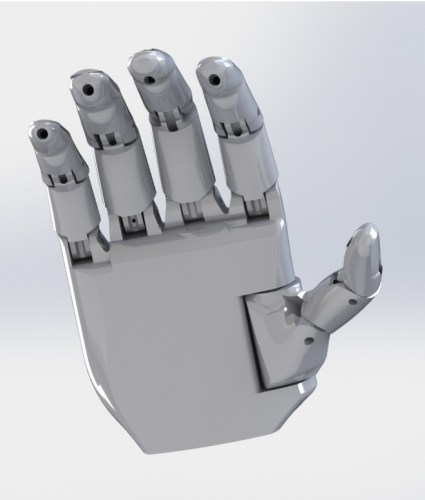 how to make a prosthetic hand at home