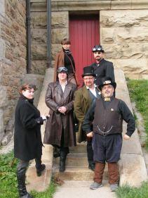Clockwork Hammer - Hamilton's Steampunk society