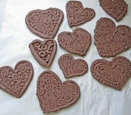 pottery-hearts