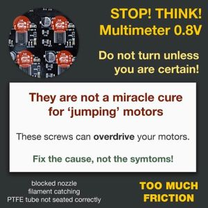 Stop Stepper Motor Abuse