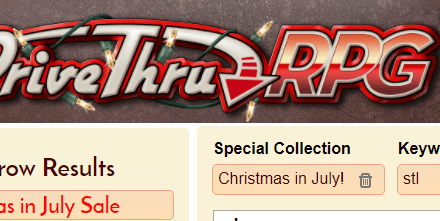Final Day of Xmas in July!
