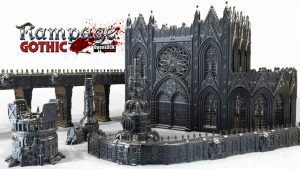 Rampage Gothic - 3d Printable Scenery Building System