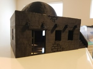 Terrain 4 Print - Two story with Domed roof
