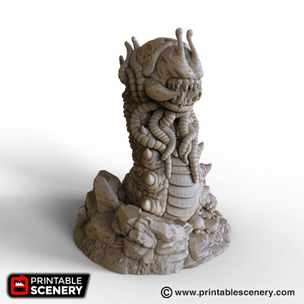 Cave Crawler From Printable Scenery 3d Printing For Gaming And More