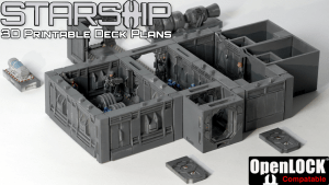 3D Printable Terrain on Kickstarter - September 2017 » Maker