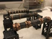 Some of the Pipes from the next Warlayer Kickstarter