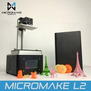 Micromake 2017 L2 UV Resin 3d printer SLA/DLP 3D Printer with touch screen