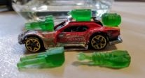 Hotwheels Car with Photon Printed Weapons