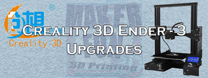 graphic about Ender 3 Printable Upgrades called Ender 3 Should include Updates and further » 3DMF