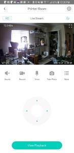 Wyze Cam Pan - App