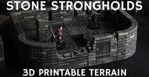 STONE STRONGHOLDS 3D PRINTABLE TERRAIN