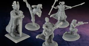 DesktopHero: Custom Gaming Miniatures