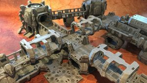3D Printable Sci-Fi Modular Outpost
